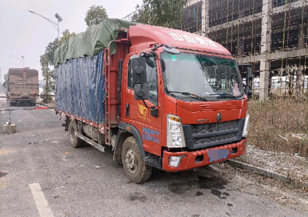 中国重汽HOWO 载货车  160匹 2020年07月 4x2