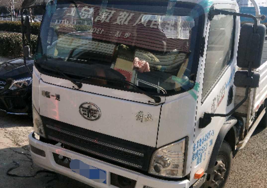 青岛解放其他车系 载货车  165匹 2019年06月 4x2