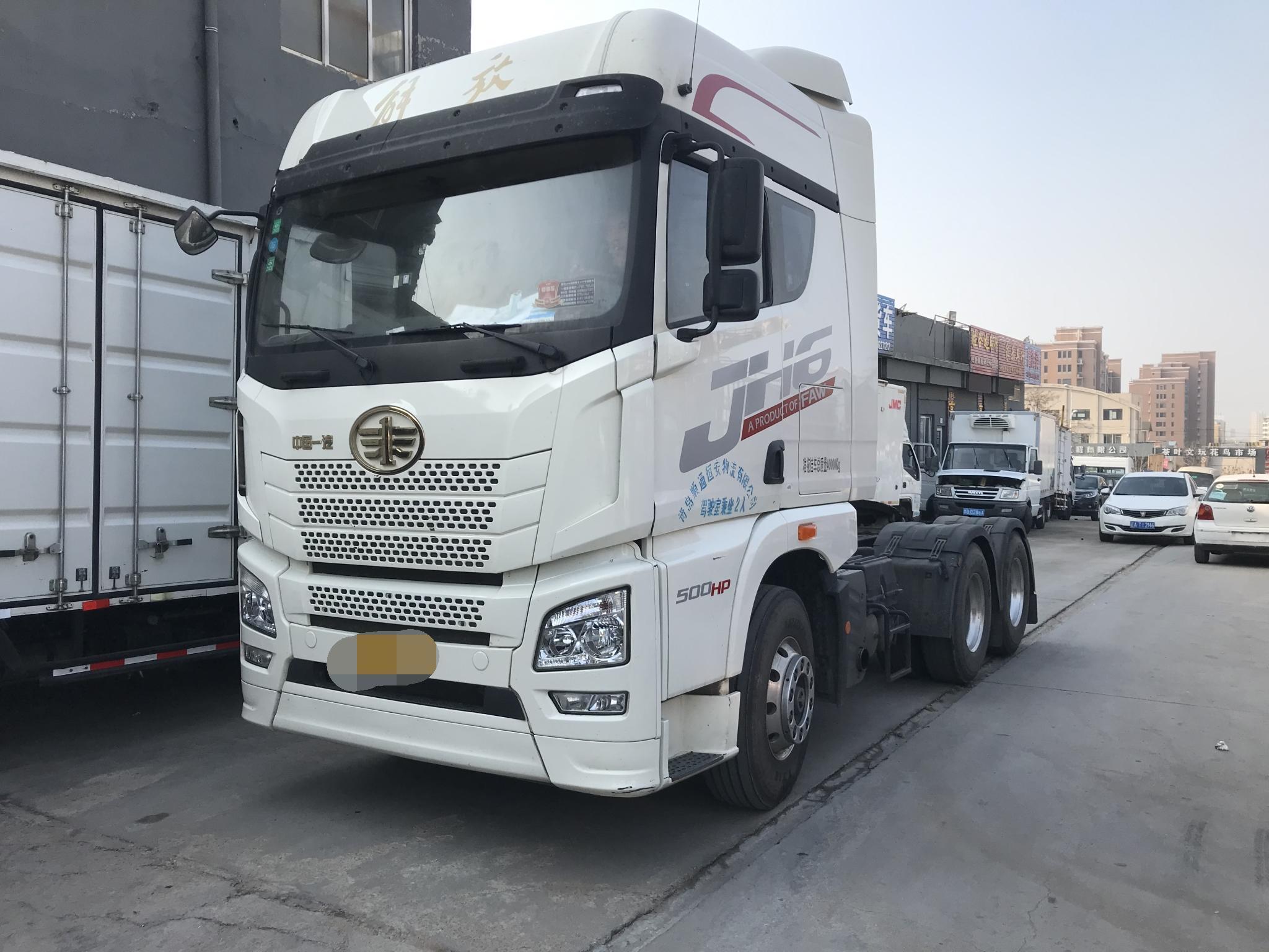 青岛解放JH6重卡 高效物流型 牵引车  500匹 2018年07月 6x4