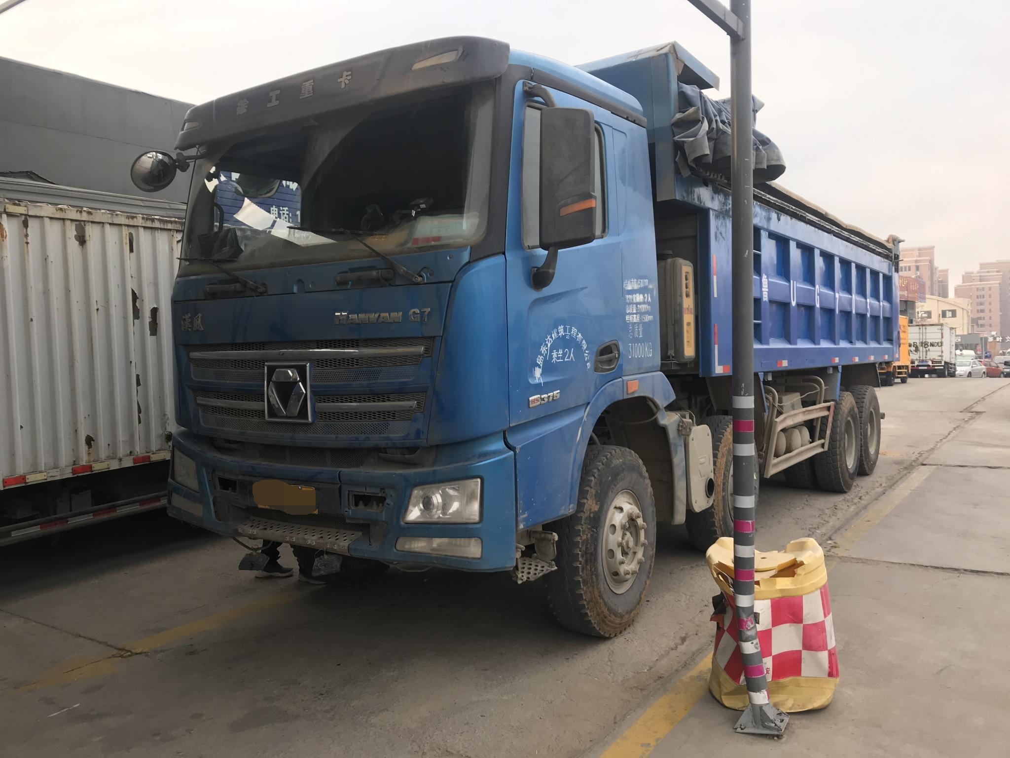 徐工漢風G7 自卸车  375匹 2018年04月 8x4
