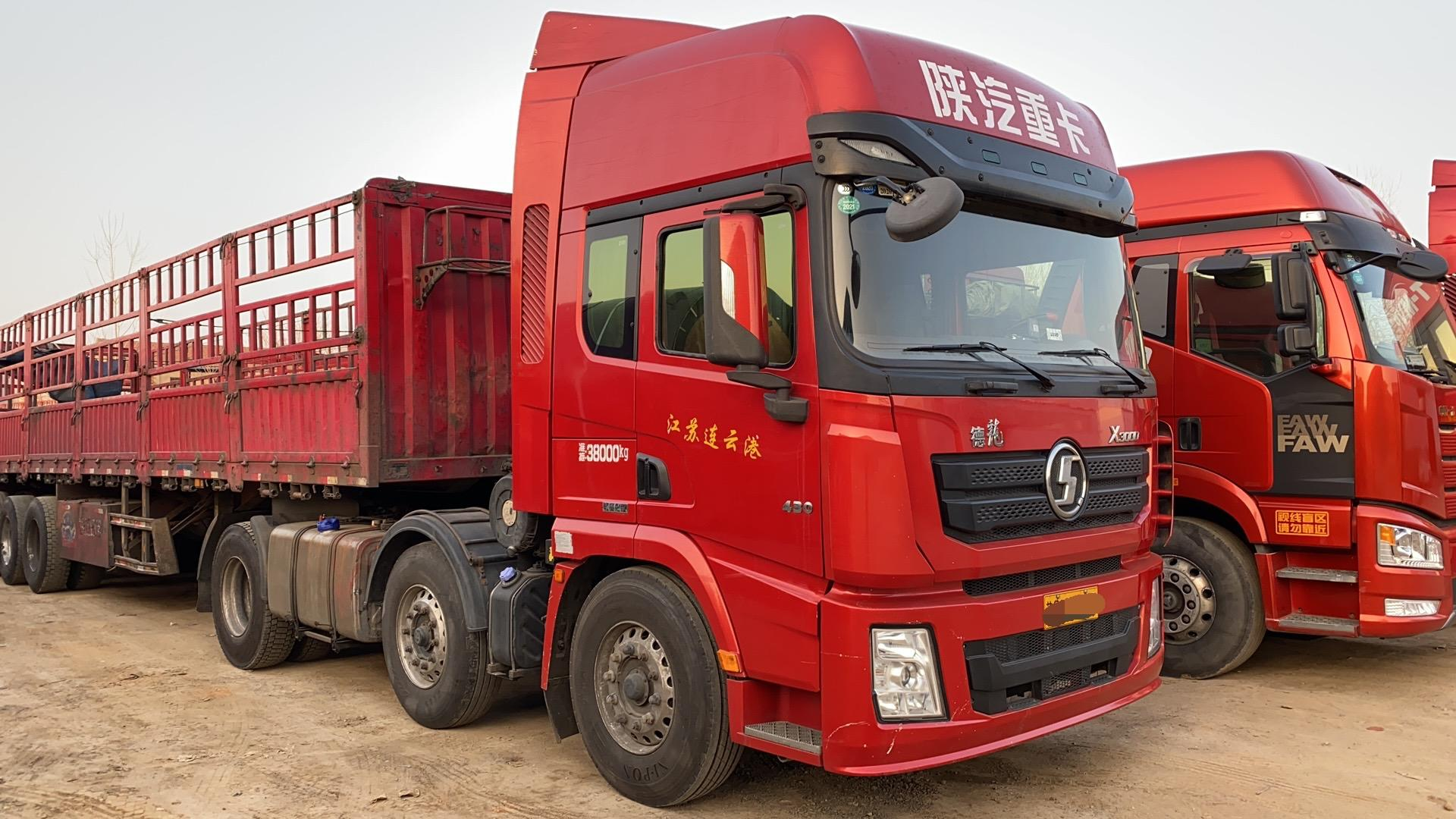 陕汽德龙X3000 牵引车  430匹 2016年06月 6x4