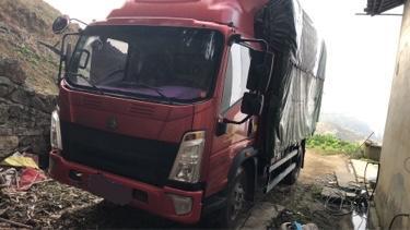 中国重汽悍将 载货车  170匹 2019年03月 4x2
