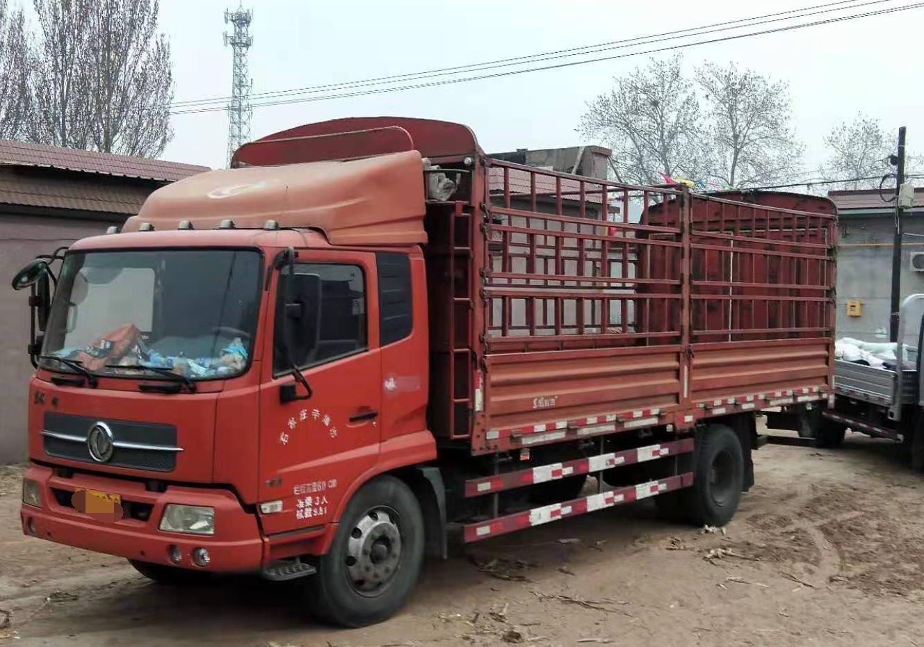 东风天锦 载货车  160匹 2012年01月 4x2
