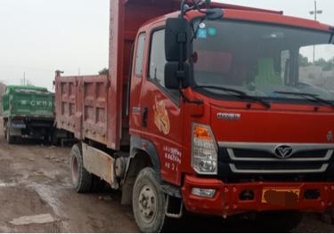 中国重汽豪曼 自卸车  130匹 2019年03月 4x2