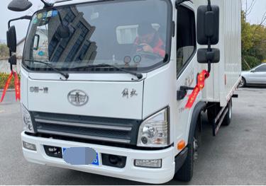 一汽解放其他车系 载货车  130匹 2018年11月 4x2