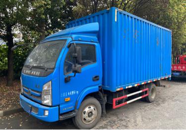 南京依维柯跃进 载货车  120匹 2018年04月 4x2