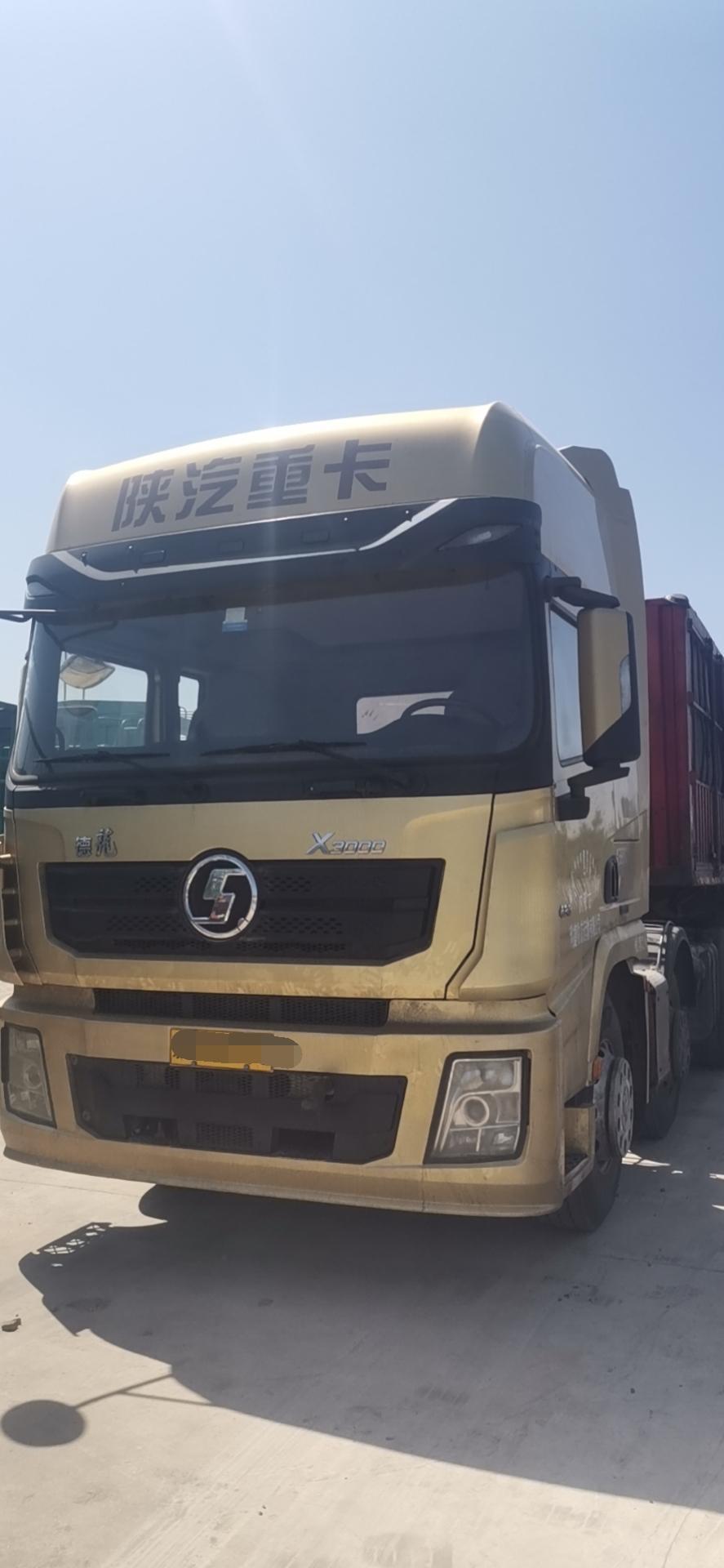 陕汽德龙X3000 牵引车  430匹 2016年07月 6x2
