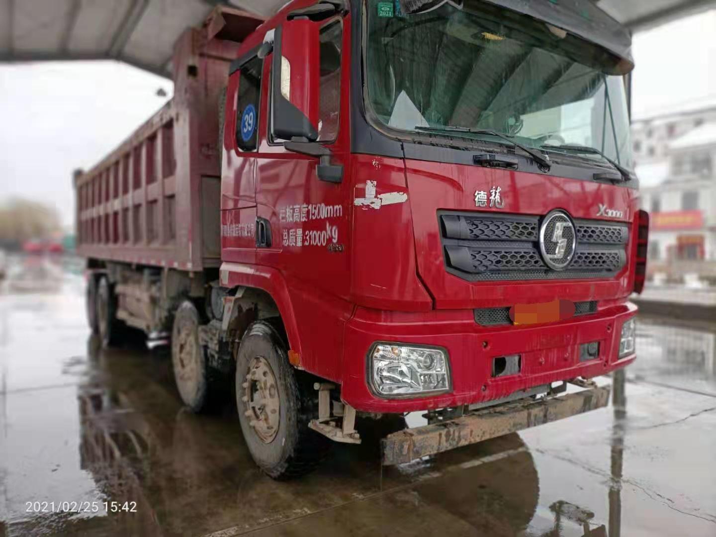 陕汽德龙X3000 自卸车  430匹 2017年11月 8x4