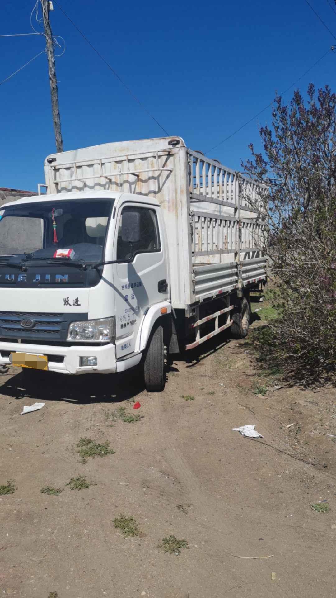 南京依维柯帅虎 载货车  110匹 2012年04月 4x2