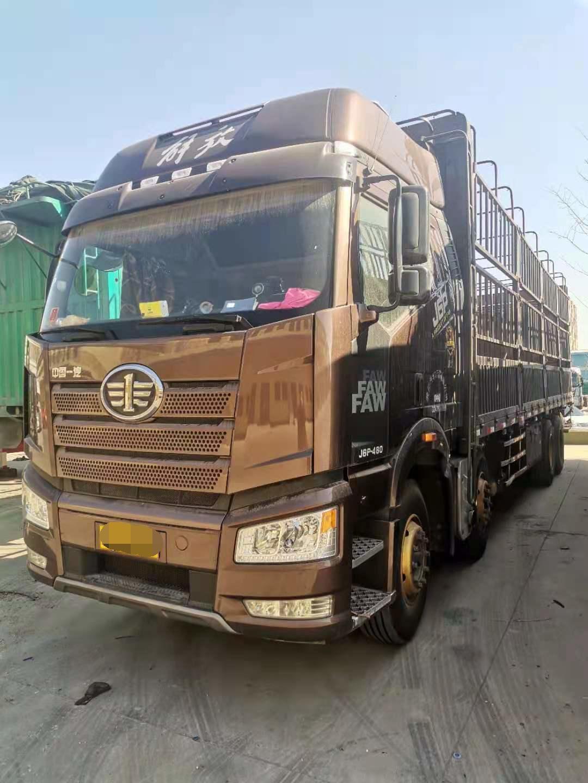 一汽解放J6P重卡 载货车  460匹 2018年12月 8x4