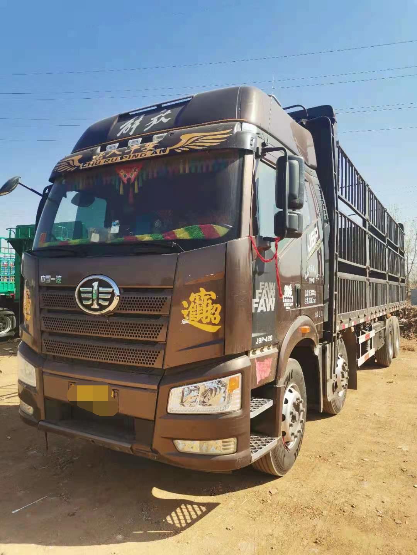 一汽解放J6P重卡 载货车  420匹 2018年07月 8x4