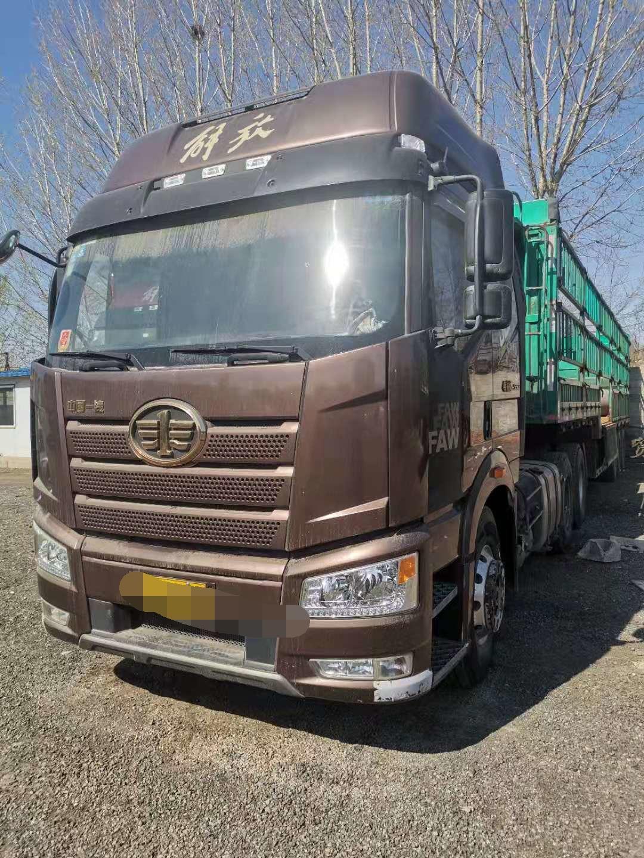 一汽解放J6P重卡 牵引车  550匹 2017年04月 6x4