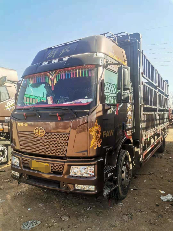 一汽解放J6L中卡 质惠版 载货车  420匹 2019年11月 8x4