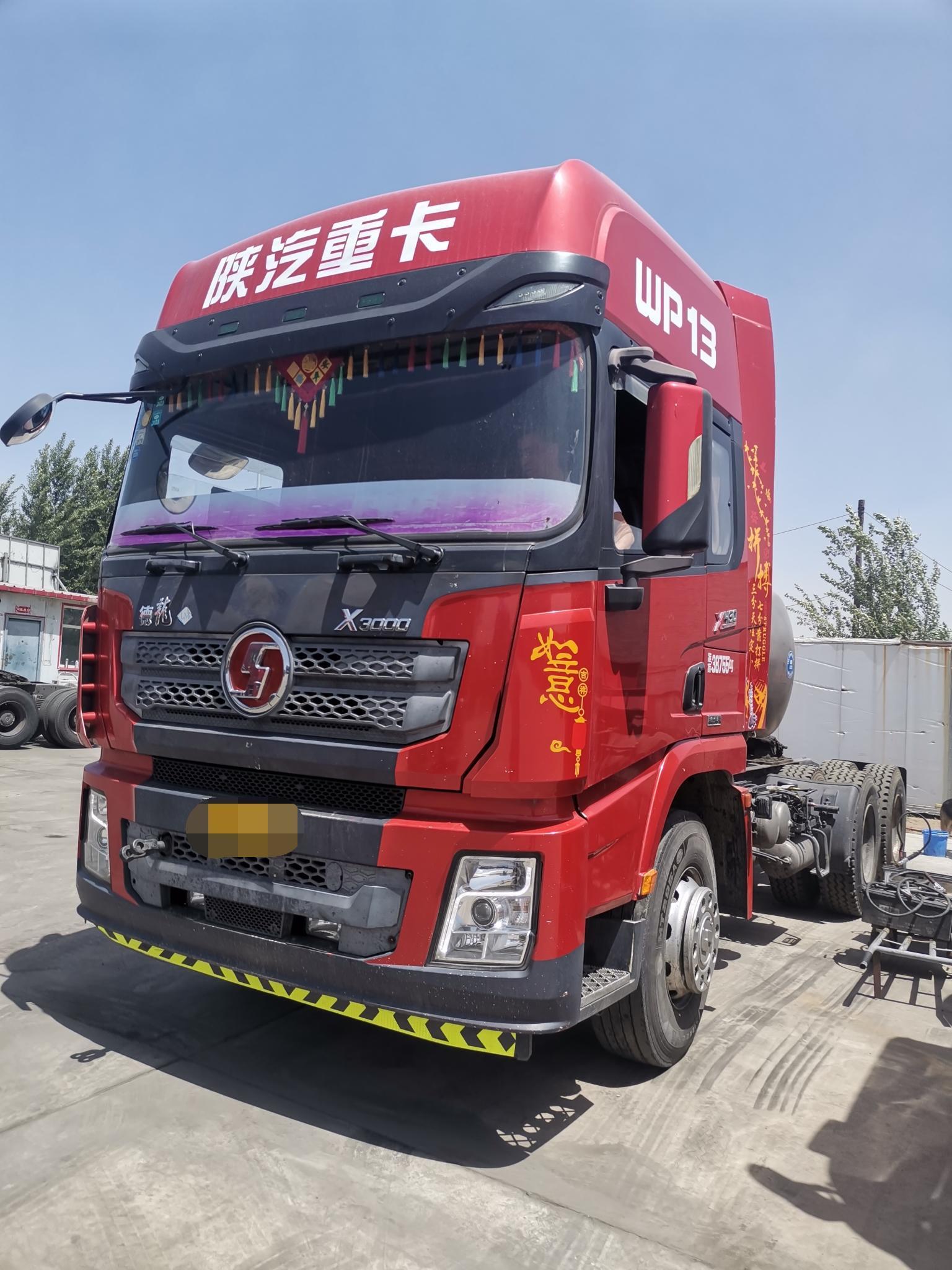 陕汽德龙X3000 牵引车  430匹 2017年08月 6x4