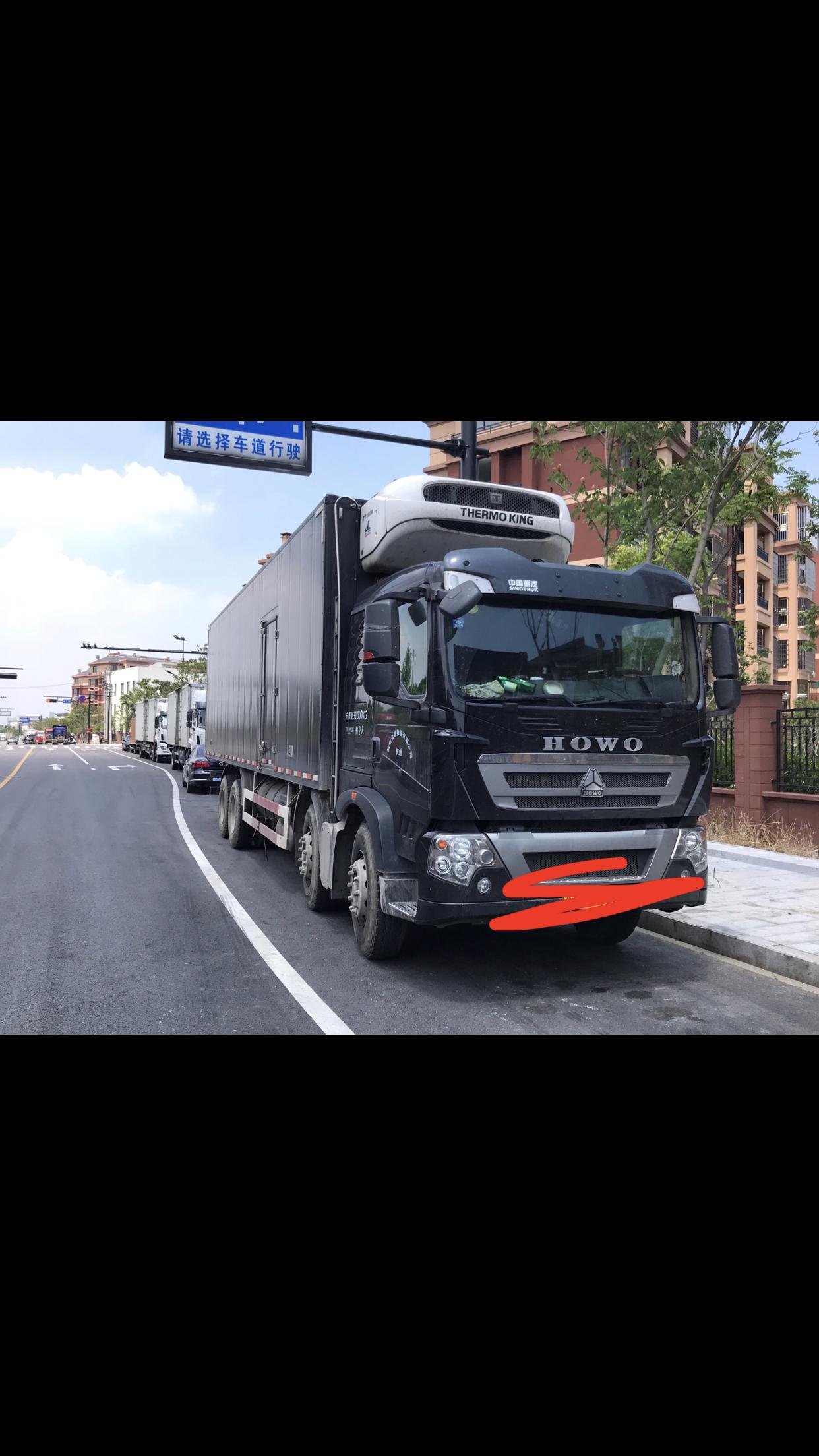 中国重汽HOWO 冷藏车  340匹 2017年05月 8x4